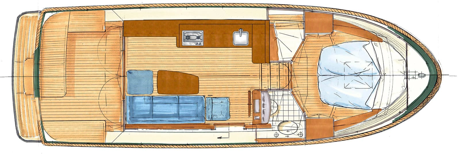 Classic Sturdy 28_Sedan_layout